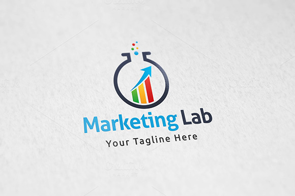 Marketing Lab Logo Template