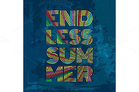 Endless Summer Artwork For Wear