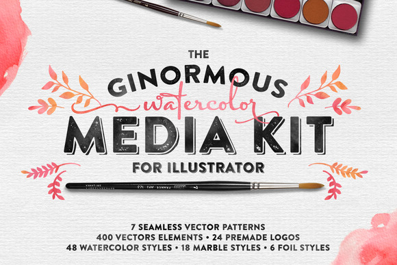 The Watercolor Media Kit