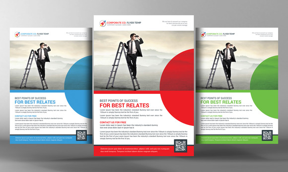 A4 Corporate Business Flyer Template