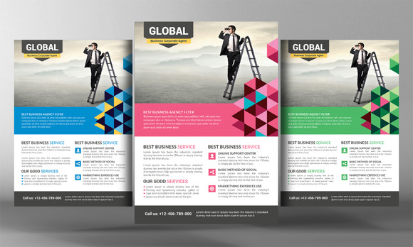 Global Corporate Business Flyer