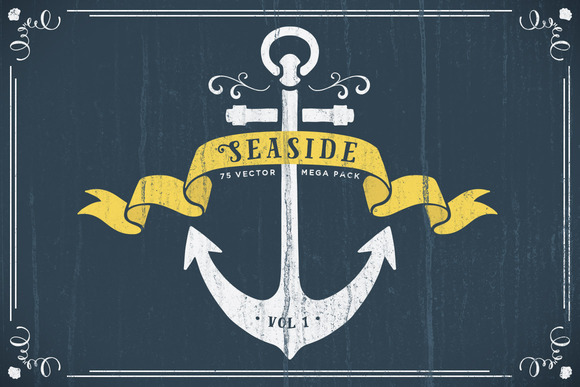 Seaside Nautical Vector Pack Vol 1