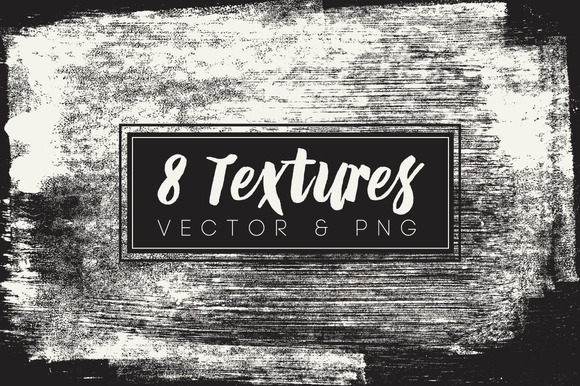 8 Vector PNG Texture Pack