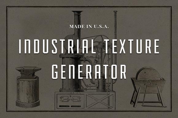 Industrial Texture Generator PSD