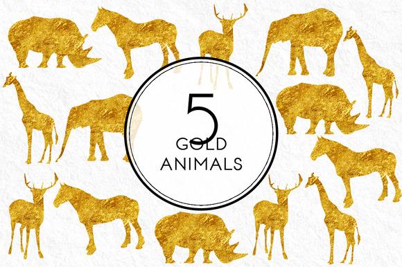 Gold Animals