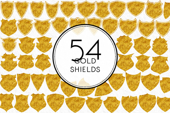 Gold Shields