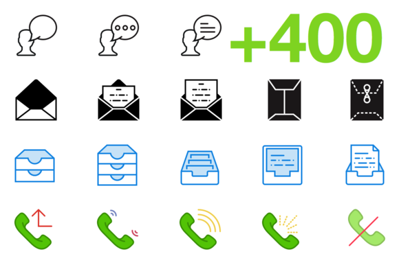 SMASHICONS 400 Dialogue Icons