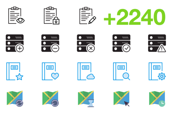 SMASHICONS 2240 Interaction Icons