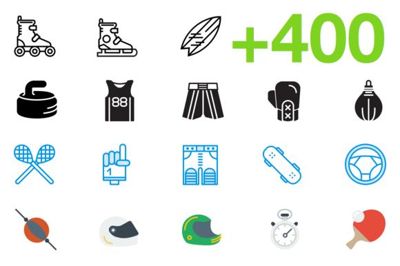 SMASHICONS 400 Sports Icons