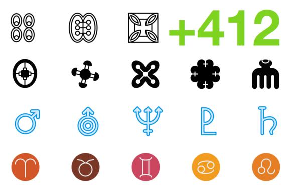 SMASHICONS 412 Symbol Icons