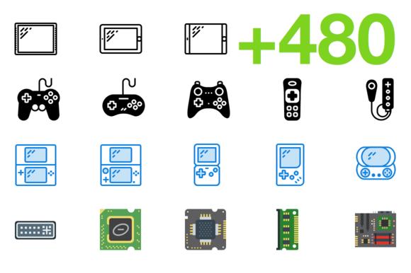SMASHICONS 480 Tech Icons