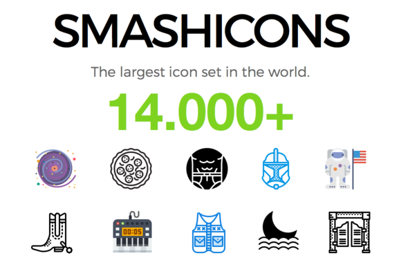 SMASHICONS 14000 Icons