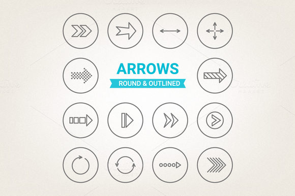Circle Arrows Icons