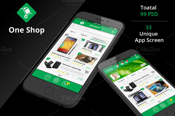 Shop Social IOS App UI Kit-2