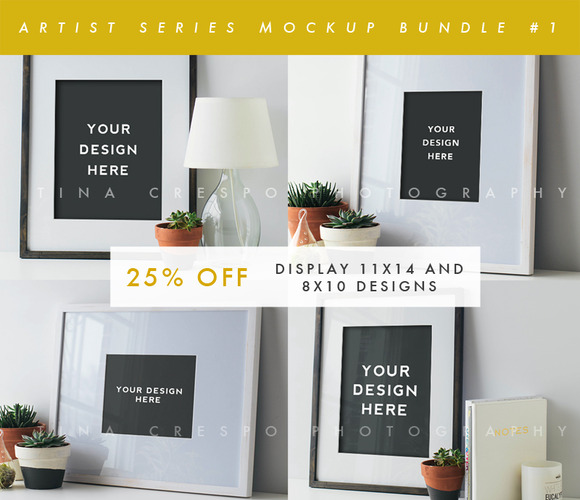 Artist Series Mockup Bundle #1