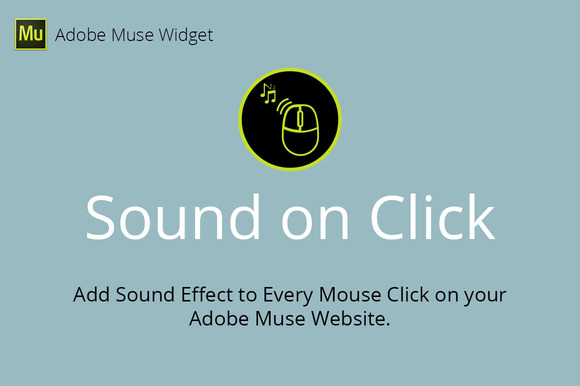 Sound On Click Adobe Muse Widget