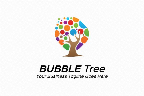Bubble Tree Logo