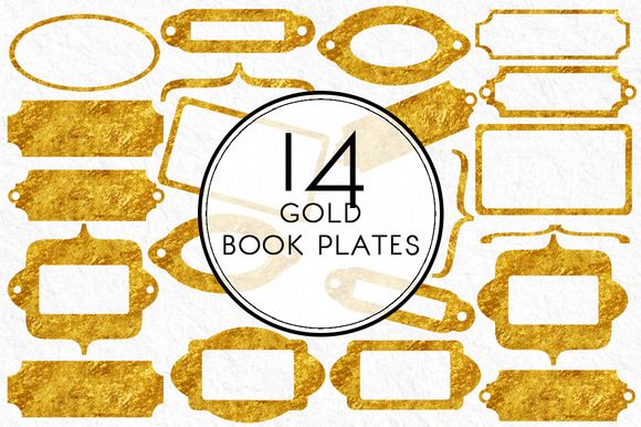 Gold Book Plates