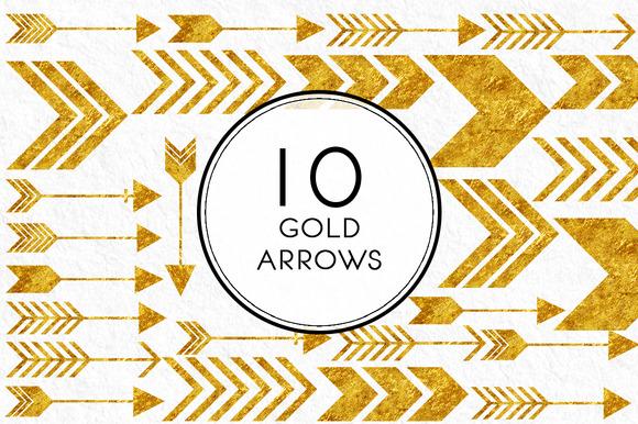 Gold Arrows
