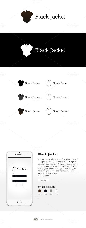Black Jacket Logo