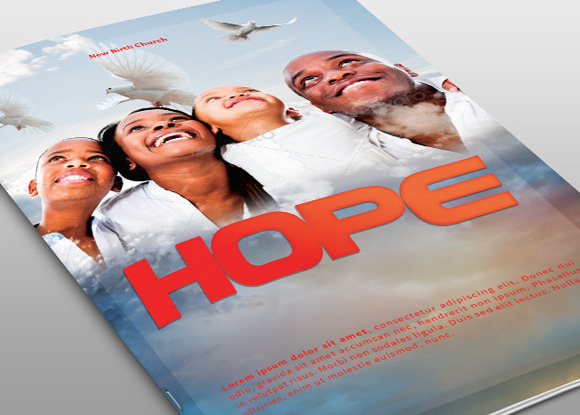 Hope Church Bulletin Template