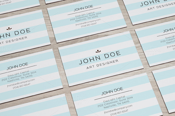 Simple Clean Business Card Vol3