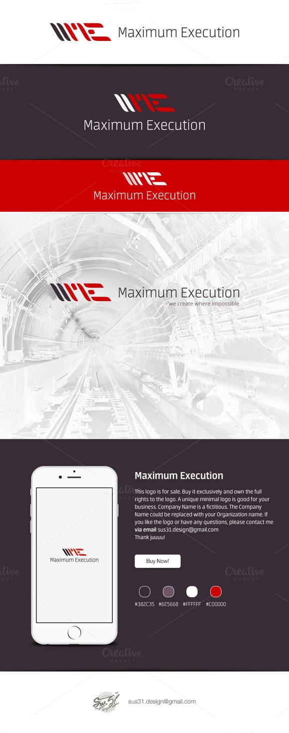 Maximum Execution Logo