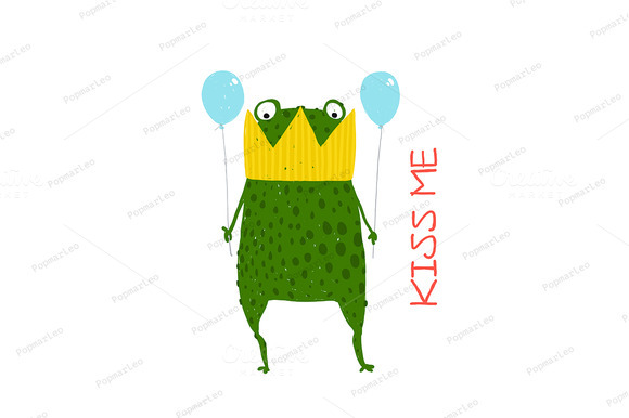 Fun Green Magic Frog Prince