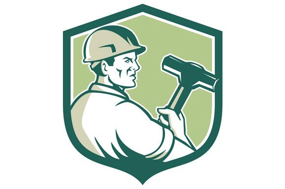 Demolition Worker Sledgehammer Shiel