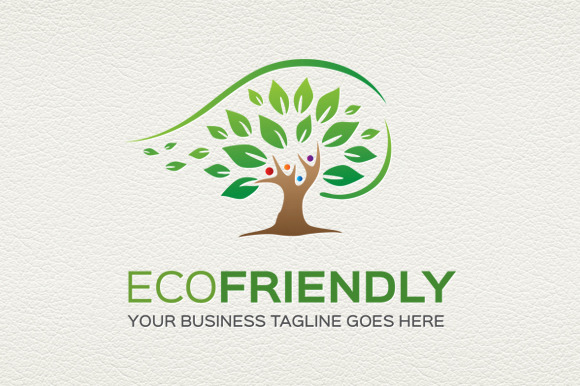 Eco Friendly Logo Template