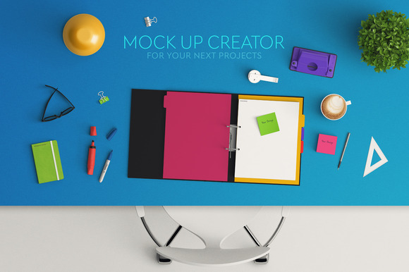 Header Mock Up Scene Creator