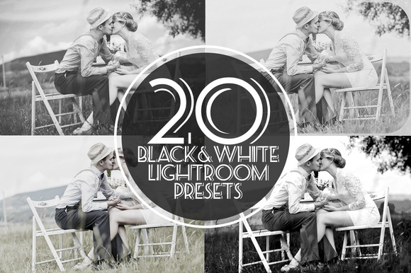Black White Lightroom Presets