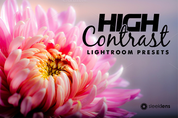 High Contrast Blow Lightroom Presets