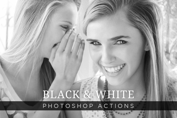 Black White Photoshop Actions 1