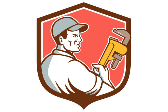Plumber Monkey Wrench Side Shield Re