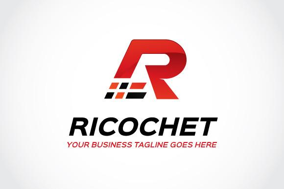 Ricochet Logo Template
