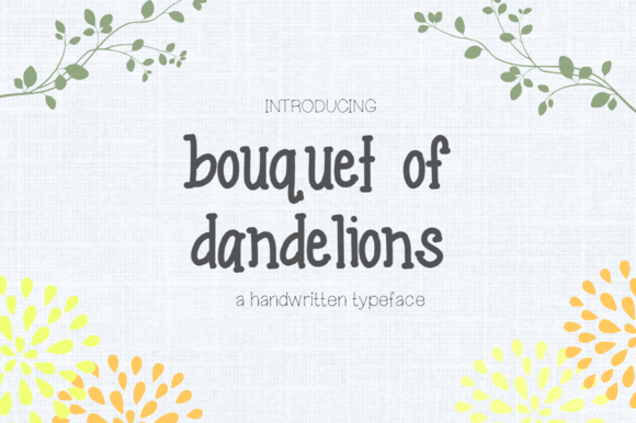 Bouquet Of Dandelions