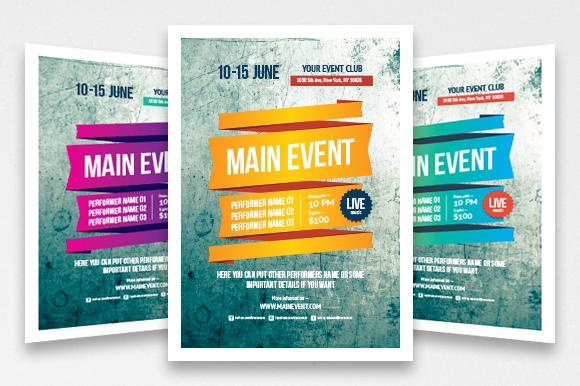 Multipurpose Poster Template Vol 3
