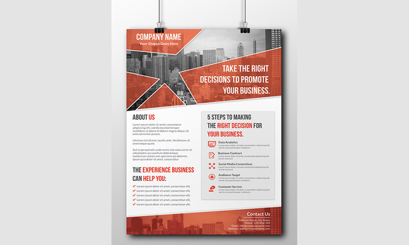 NEW Style Corporate Flyer Template