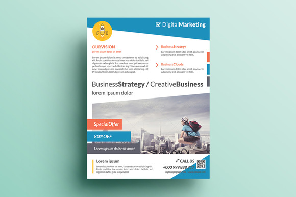 Creative Corporate Flyer V4