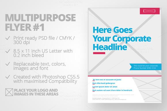 Multipurpose Flyer #1