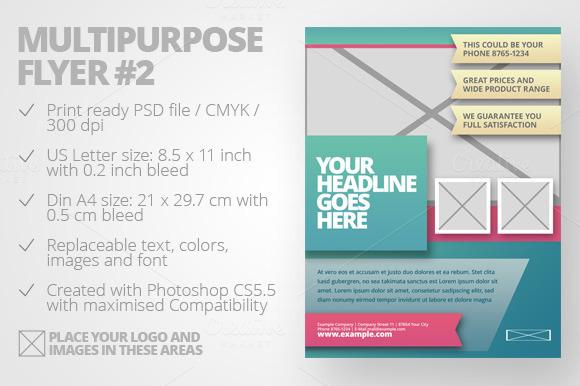 Multipurpose Flyer #2