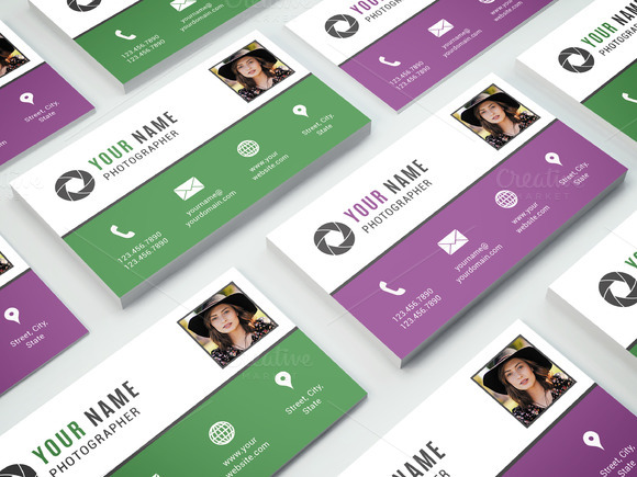 Business Card Template 006 Photoshop
