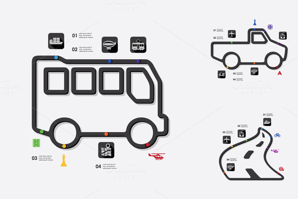 9 Transport Infographic