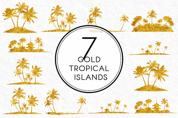 Gold Tropical Islands
