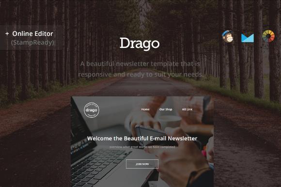 Drago Modern Newsletter Builder
