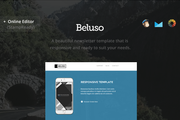 Beluso Email Newsletter Builder