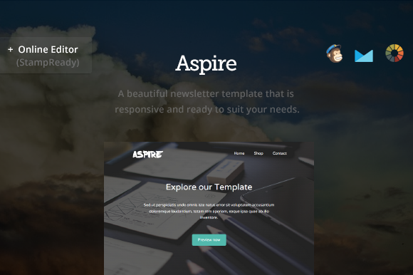 Aspire Email Newsletter Builder