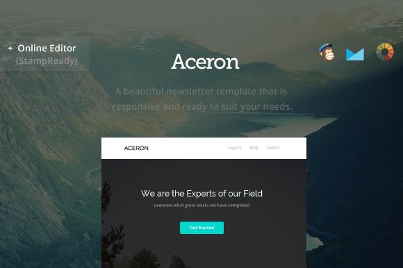 Aceron Modern Email Builder