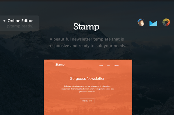 Stamp Email Newsletter Builder
